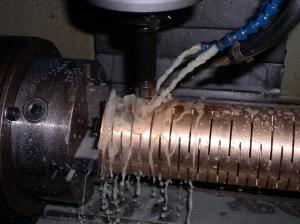Calibrador extrusão tubo plástico